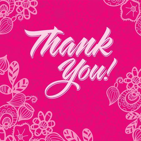 scarlet: Thank you pink and scarlet card. You can use it for invitations, flyers, postcards, cards and so on.