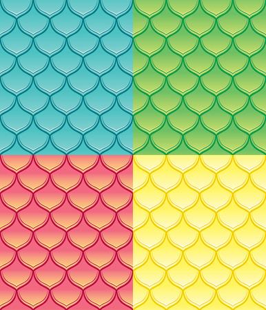 squama: Squama fish snake lizard scales seamless background