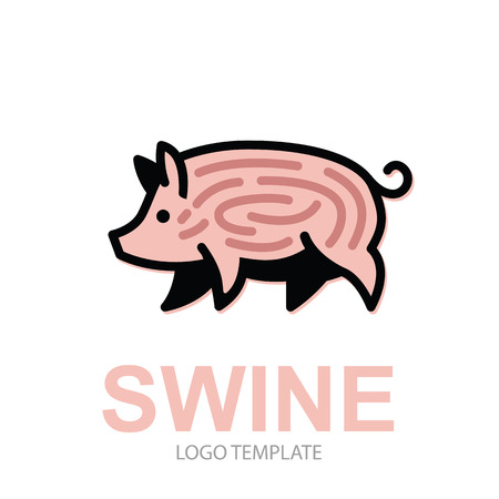 Ausgezeichnet Schwein Umriss Vorlage Fotos - Dokumentationsvorlage ...