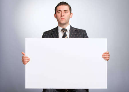 Serious Business Man photo