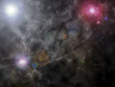 astroimage: Abstract universe Stock Photo