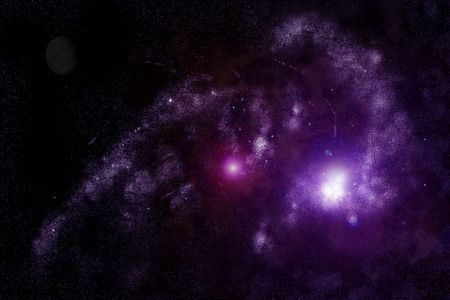 astral: Abstract universe - space nebula Stock Photo