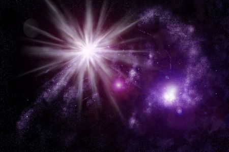 Abstract universe - space nebula Stock Photo - 3280711