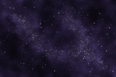 milkyway: Starfield - Abstract universe - space nebula