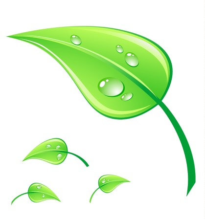 Vector illustration green environment concept. illustration