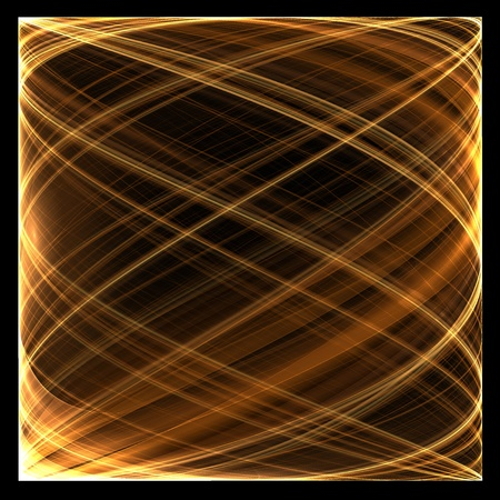 Abstract color image on a black background  Curves and ornaments futuristic design Stock Photo - 12781112