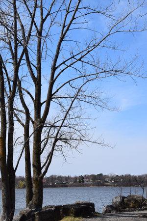 Four winds bank on Laval island Reklamní fotografie