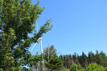 Wind Farm of Mt. Ste-Marguerite Banque d'images