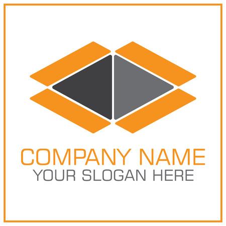 Logo vectoriel boîte ouverte pour entreprise de déménagement / transport