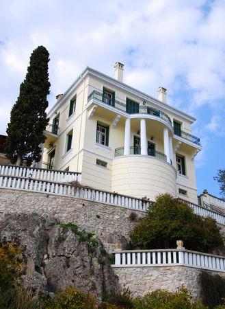 Classic Villa Stock Photo - 2206629