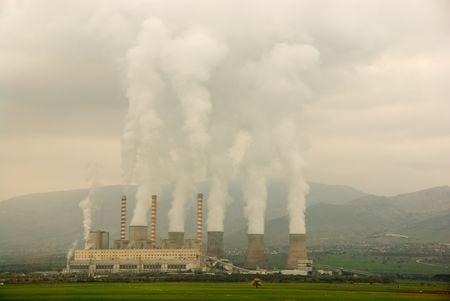 Electricity power station 版權商用圖片 - 2231045