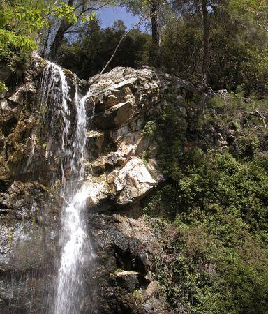 foaming: Waterfall