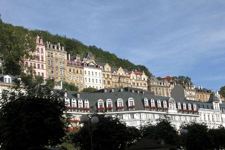 vary:  Cityscape of Karlovy Vary