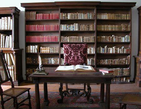 bibliotecas: Old Gabinete