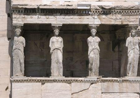 platon: Caryatids, Erechtheion at Acropolis Hill