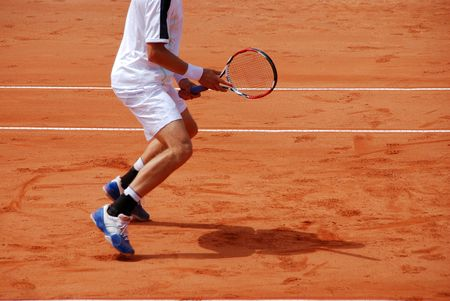 Tennis Player Standard-Bild - 2283258
