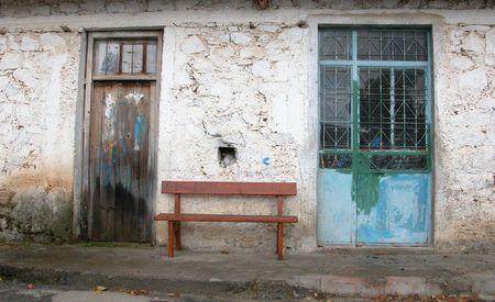 casa colonial: Vintage puertas