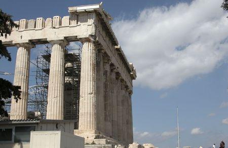 platon: Parthenon at Acropolis hill Ahtens