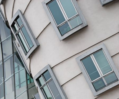 Modern architecture building Stock Photo - 2435423
