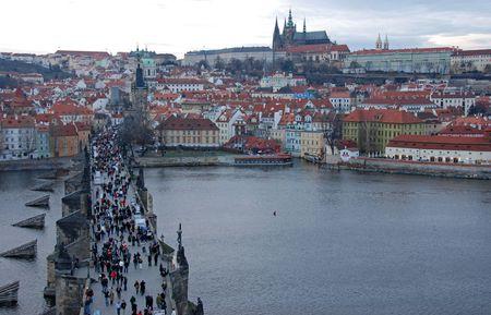 Prague cityscape Stock Photo - 2621981