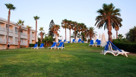 Holiday resort  from Paphos in Cyprus