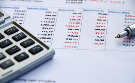 Financial Report Stock Photo - 2956811