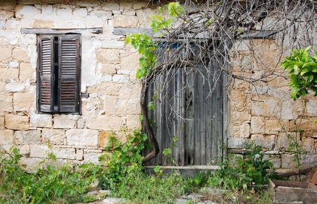 Abandoned house from a village in Cyprus