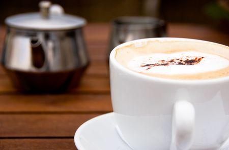 Tasse Cappuccino Standard-Bild - 4650810