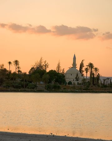 sultan: Hala sultan Tekke mosque in Larnaka Cyprus