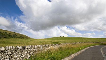 Farmland in Scotland photo