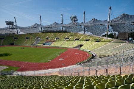 olympics:  Munich Olumpic stadium   Editorial