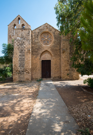 Church of St. George the Exiler, or Nestorian Church  situated in the North West corner of Famagusta town in Cyprus