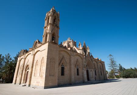 Holy orthodox christian church of Panagia at Lysi village, Cyprus