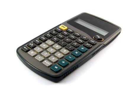 Scientific calculator on white background