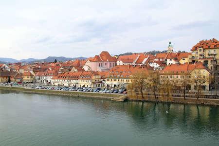 View of Mariborcity,  Slovenia photo