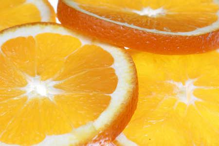 Background of orange slices  Stock Photo