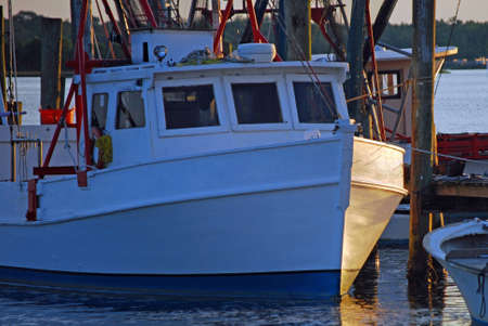 Commercial Fishing Boat at the Dock photo