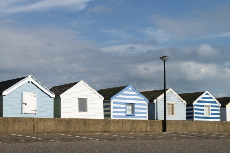 Beach Huts at Southwold, Suffolk, UK Stock Photo - 16975481