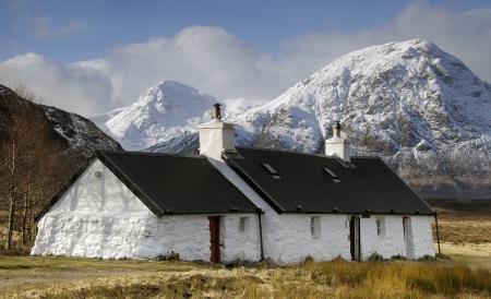 glencoe: Black Rock Cottage, Glencoe, Scotland