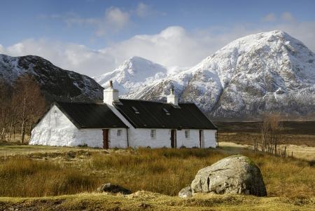 blackrock: Blackrock Cottage, Glencoe, Scotland.