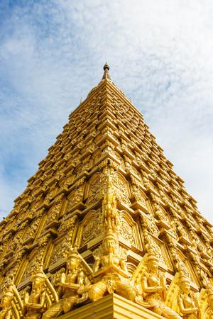 Golden Bodhgaya models in Thailand.