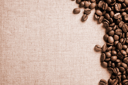 close uo: Close uo photograph of some fresh coffee beans Stock Photo