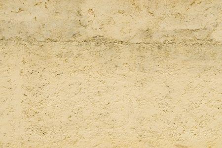 restored: Restored wall in Fez, Morocco