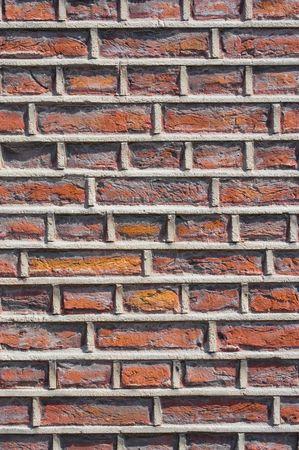 rough: Rough brick wall facade