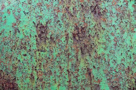 Detailed close up surface of rusty metal and steel with lots of corrosion in high resolution.