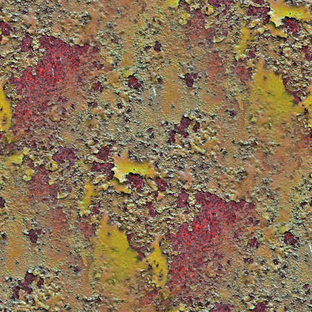 Photo realistic seamless texture pattern of rusty metal in high resolution
