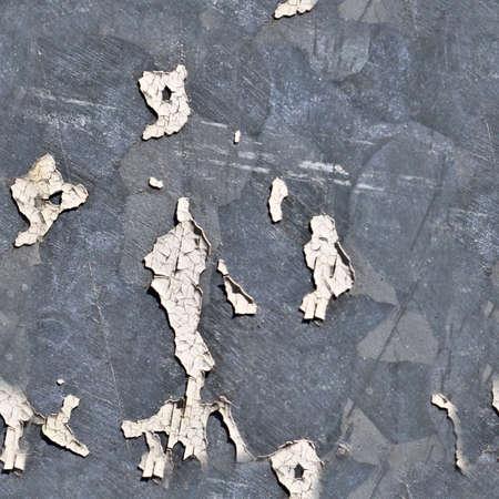 Photo realistic seamless texture pattern of paint peeling at walls Standard-Bild