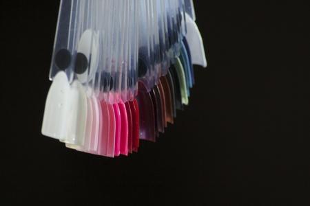 Artificial nails colour palette 2
