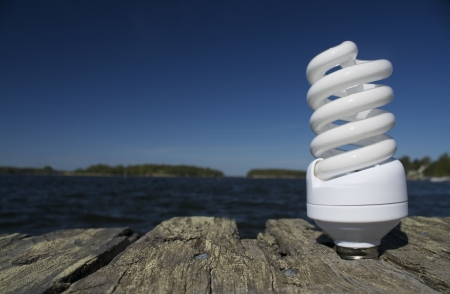 save the sea: Idea for ecological activity with energy saving bulb  Save the world