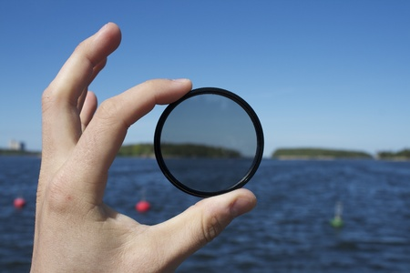 polarization: Polarization filter for photography article or something